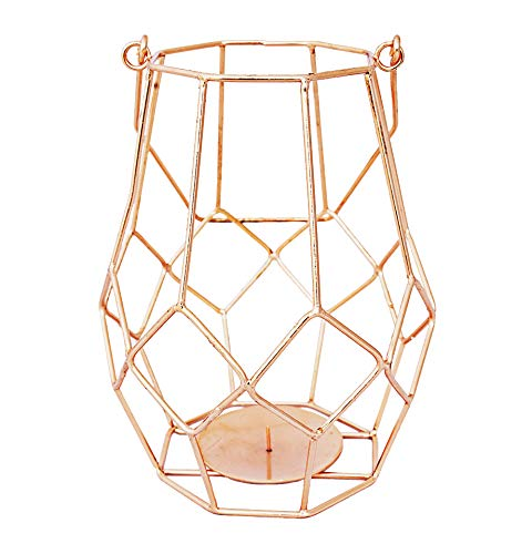 Alchemade Copper Votive Candle Holder Lantern