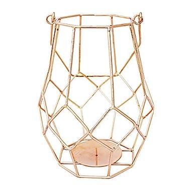 Alchemade Copper Votive Candle Holder Lantern