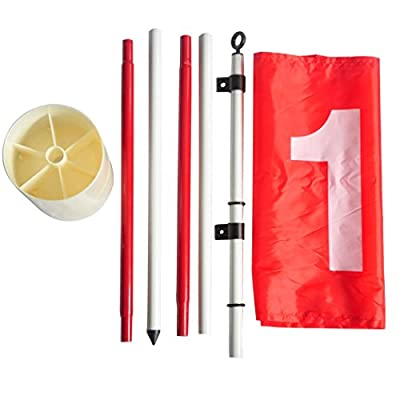 HLC Golf Cup with Target Flag