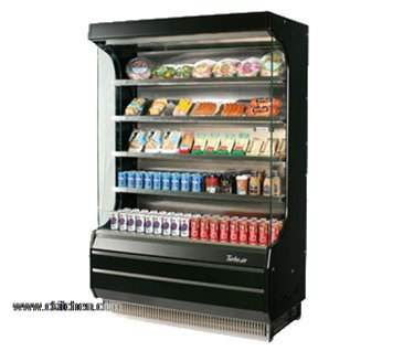 (Turbo Air TOM-50B Vertical Open Display Merchandiser)