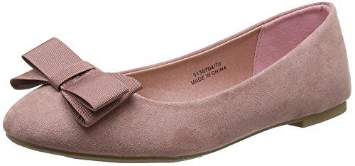 New Look WoMen Wide Foot Jooty Closed-Toe Heels Pink (Light Pink)