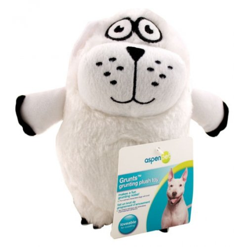 UPC 029695536427, Polar Bear Grunts Dog Toy