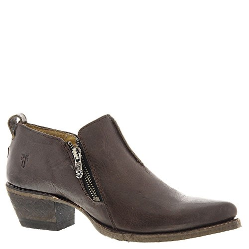 Moto Sacha Charcoal Western Smooth Shootie Mujer FRYE Vintage Leather Boot xHqv4Z