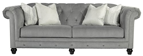 Benchcraft - Tiarella Traditional Upholstered Sofa - Ash