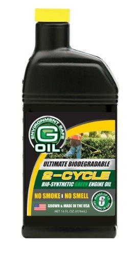 Green Earth Technologies 01109 G Oil 2-Stroke Engine Oil 16 oz
