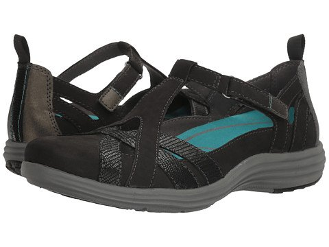 散歩に行く事件、出来事縞模様の(アラヴォン)Aravon レディースサンダル?靴 Beaumont Fisherman Black 10 27cm N (AA) [並行輸入品]