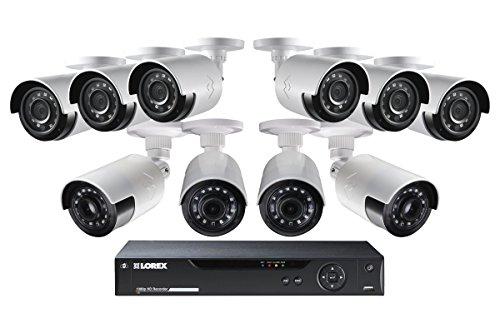 Lorex 16-Ch 1080p Surveillance System w/ 6 1080p Bullet Cam & 4 1080p - See Log Free Through Vent