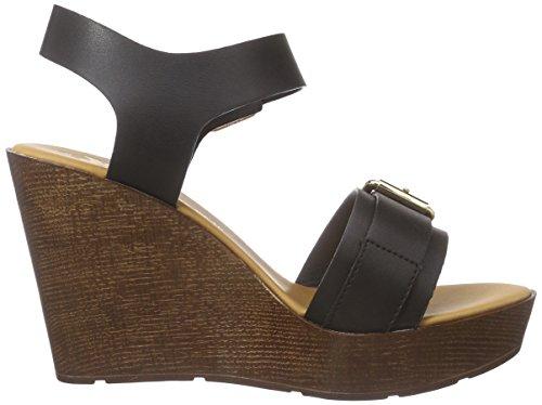 XTI 45899 - Correa de tobillo Mujer Negro - negro (Negro)