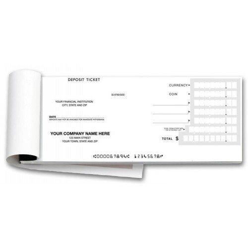 100050, Booked Deposit Tickets - Quick Entry by PrintEZ