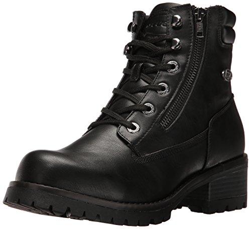 Lugz Women's Flirt Hi Zip Winter Boot, Black, 9 M US