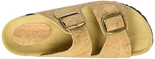 Stegmann Kork C910 - Mules Unisex adulto marrón (Braun)