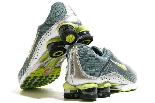 Nike Shox Erfaring + Hvid / Sort Herre Løbesko 318.684 Til 071 Metallisk Sølv / Lyse Kaktus-pavment Grå nR1FceKjH