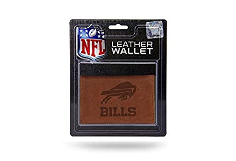 4af4f76c1 Amazon.com   NFL Buffalo Bills Leather Trifold Wallet with Man Made ...