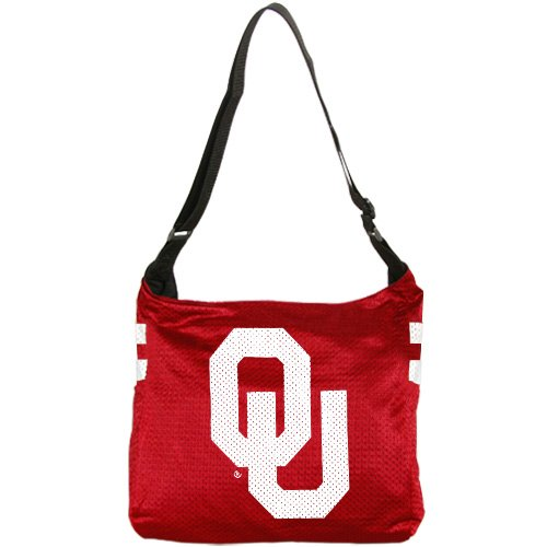 NCAA Oklahoma Sooners Ladies Crimson Veteran Jersey Tote Bag (Veteran Jersey Tote Bag)