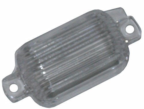(J-8-4) Inline Tube Rear License Plate Light/Lamp Compatible with 1964-72 GM A-Body Chevelle, Cutlass, GTO, Skylark and El Camino