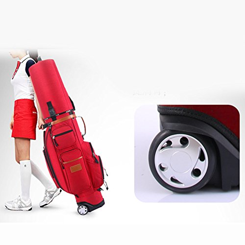 PGM Padded Travel Cover Bag With Wheels With coded lock----Free Send a Rain Cover (red) by PGM (Image #3)