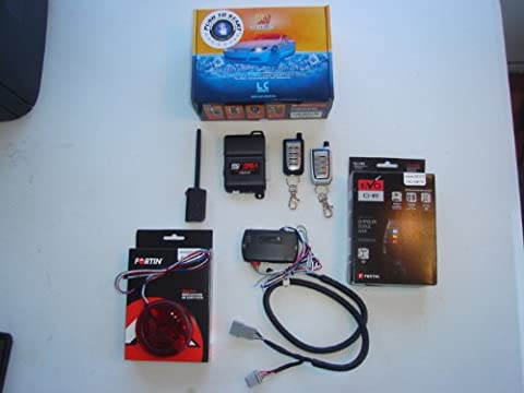 Remote Start Kit RAM 2013-2015 Pre Assembled for True Plug in Installation, FORTIN Flash Programmer Included, T-Harness, Bypass, Keyless Entry & Install Kit Included(LCPRO-4, EVO-CHRT6-TIP KEY (2015 Ram Remote Start)
