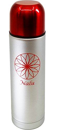 NALU Therm Mini | 24 Hour Hot + 48 Hour Cold | Personal Stainless Steel Travel Thermos Bottle for Coffee, Tea, Water | Double Wall Vacuum Insulated | 17 ounce