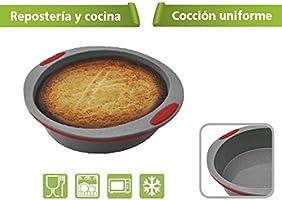 Jata Hogar Molde para repostería y Cocina, Silicona, modelo MC65 ...