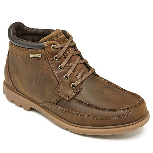 Rockport Men's, Patten Moc Boots Brown 12 W