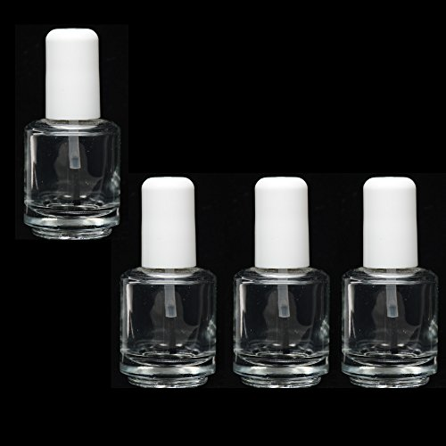 empty-polish-bottles-clear-with-brush-cap-and-mixing-ball-14ml-05-oz-4-pcs-deal