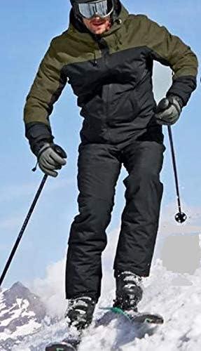 atmungsaktiv Active Touch Herren Skihose Herren 100/% Polyester Oberstoff Teflon EcoEliteTM wasserdicht Winddicht Farbe: Schwarz
