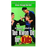 Tae Kwon Do For Kids 2 VHS children Taekwondo video New korean karate Paul Kim