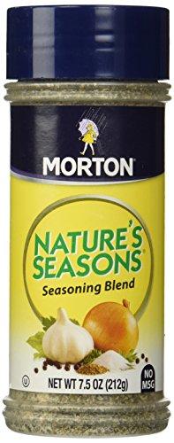 Mortons Natures Seasons No MSG Seasoning Blend 7.5oz Bottle (Pack of 3)