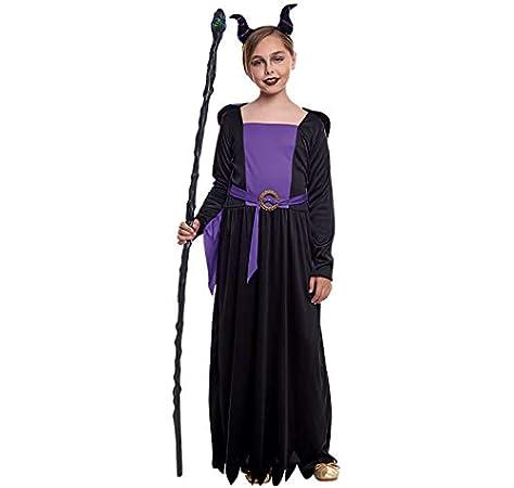 Disfraz Reina Maléfica Niña (5-6 años) Halloween (+ Tallas): Amazon.es: Juguetes y juegos