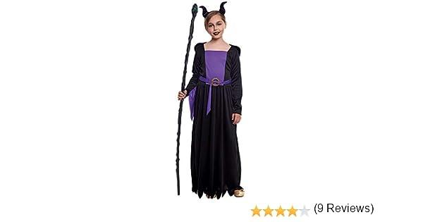 Disfraz Reina Maléfica Niña (3-4 años) Halloween (+ Tallas ...
