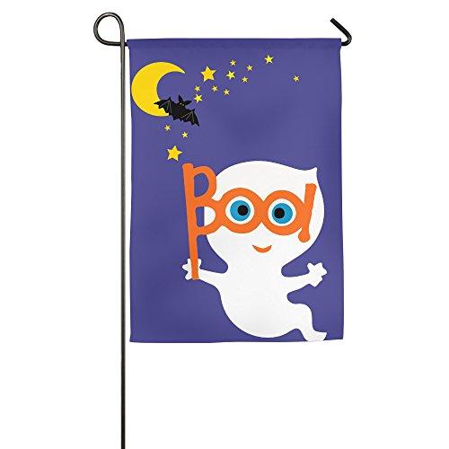 Karoda Halloween Boo Home Garden/House (Baltimore Ravens Halloween Flag)