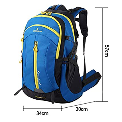 XJRHB Outdoor Mountaineering Bag Backpack Male Large Capacity Camping Backpack Female Sports Backpack 60L