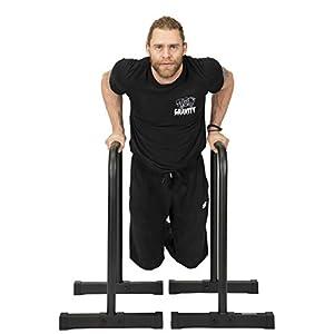 Gravity Fitness Parallettes, Dip Bars – XL – Nouvelles poignées de 38 mm – Barres d'immersion pour la callisthénie, le…