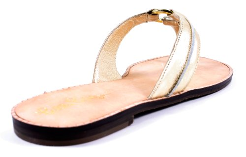 Gold McKim Lilly Sandal Women's Sandals Metal Pulitzer fzwqUg