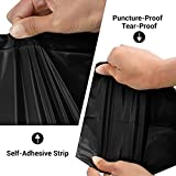 """Keepack 200pc Poly Mailers, 6x9"""" Black Poly Mailer"""