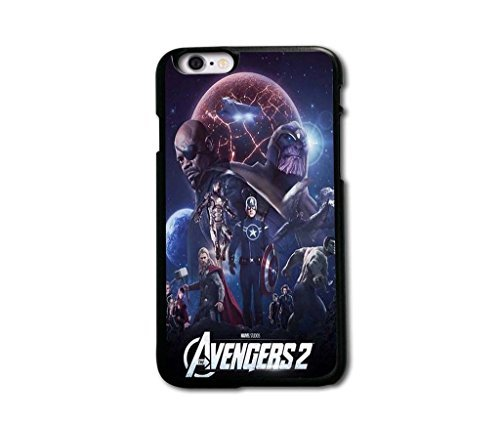 "Tomhousomick Custom Design The Avengers Spider-Man Captain America The Hulk Thor Ant-Man Black Widow Iron Man Case Cover For iPhone 6 plus 5.5 inch 5.5"" 2015 Hot Fashion Style"
