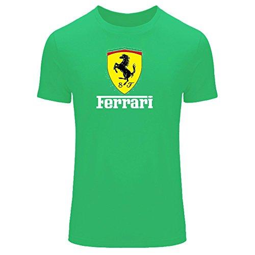 Ferrari For 2016 Mens Printed Short Sleeve tops t - Online Buy Ferrari