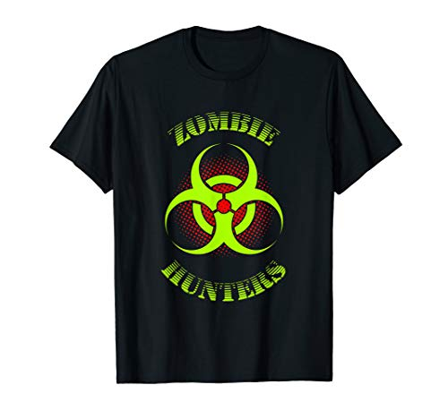 Zombie Hunters Bio Hazard Halloween T-shirt