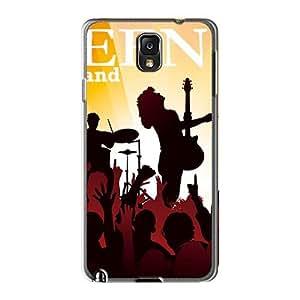 LauraFuchs Samsung Galaxy Note3 Bumper Cell-phone Hard Cover Custom Attractive Guns N Roses Image [sNQ6097sUef]