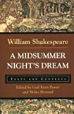 img - for William Shakespeare: A Midsummer Night's Dream : Texts and Contexts (Paperback); 1999 Edition book / textbook / text book