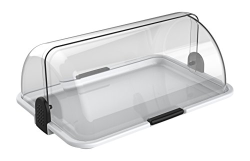 Cuisinox Polybox Countertop Bakery Display Case, White