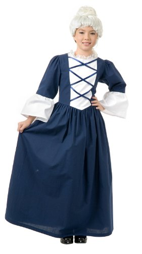 [Martha Washington Costume - X-Large] (Colonial Dress For Girls Costumes)