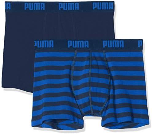 PUMA heren zwembroek Puma Stripe 1515 Boxer 2p: Amazon.nl