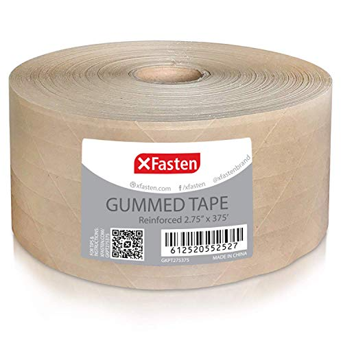XFasten Reinforced Gummed Kraft Inches product image