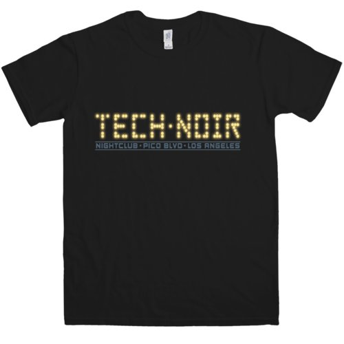 Tech Noir Nightclub Neon Display T-shirt - S to 3XL