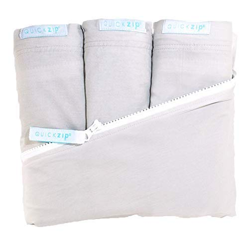 QuickZip Crib Sheet Set