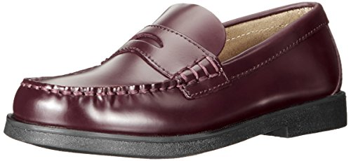Sperry Colton Penny Loafer (Toddler/Little Kid/Big Kid),Burgundy,3.5 M - Penny Loafers For Girls