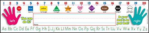 Tool Super School - Scholastic  Super School Tool Standard Manuscript Name Plates Primary Grades (TF1551)