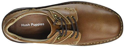 Derby Tan Lace Marrone Uomo Hush Stringate Geography Scarpe Puppies Unq4SX