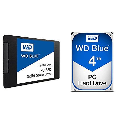 WD Blue 250GB Internal SSD Solid State Drive - SATA 6Gb/s...